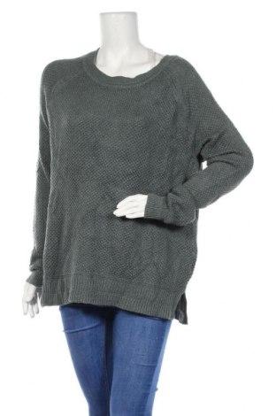Дамски пуловер Old Navy, Размер XL, Цвят Зелен, 57% памук, 24% акрил, 19% полиестер, Цена 17,06лв.