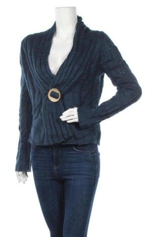 Γυναικείο πουλόβερ Oxmo, Μέγεθος M, Χρώμα Μπλέ, Τιμή 10,00€