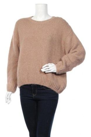 Дамски пуловер Primark, Размер L, Цвят Кафяв, 78% полиестер, 22% полиамид, Цена 20,79лв.