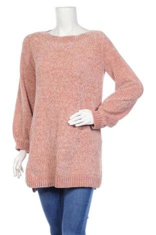 Γυναικείο πουλόβερ Rainbow, Μέγεθος M, Χρώμα Ρόζ , Πολυεστέρας, Τιμή 6,37€