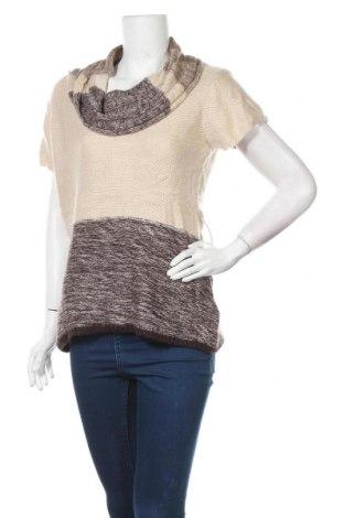 Дамски пуловер Ricki's, Размер M, Цвят Бежов, 93% вискоза, 7% полиамид, Цена 26,93лв.