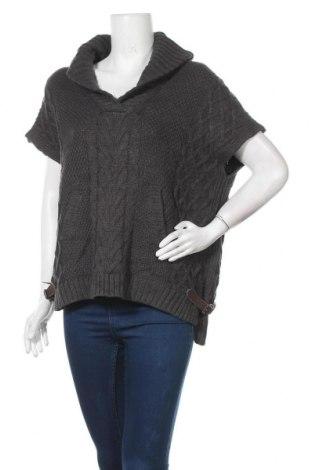 Γυναικείο πουλόβερ Ricki's, Μέγεθος L, Χρώμα Γκρί, 60% βαμβάκι, 40%ακρυλικό, Τιμή 4,77€