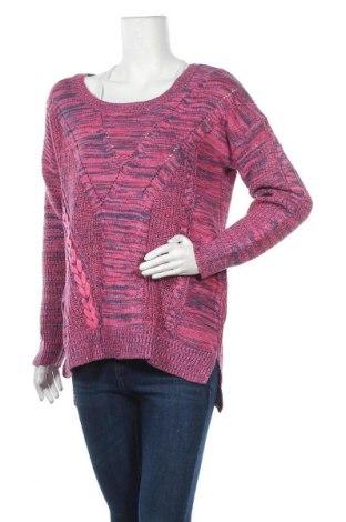 Дамски пуловер Rockmans, Размер M, Цвят Розов, Акрил, памук, Цена 27,93лв.