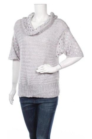 Дамски пуловер Roz & Ali, Размер L, Цвят Сив, Полиестер, Цена 7,35лв.