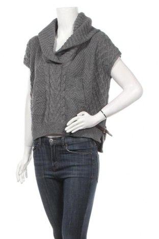 Дамски пуловер Saks Fifth Avenue, Размер S, Цвят Сив, 70% акрил, 30% вълна, Цена 5,78лв.