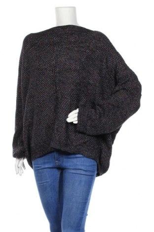 Дамски пуловер Soho, Размер XL, Цвят Син, 87% акрил, 9% полиестер, 4% други материали, Цена 8,51лв.