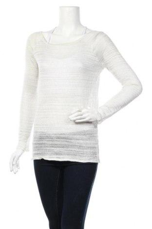 Дамски пуловер Sparkz, Размер M, Цвят Бял, 95% полиестер, 5% метални нишки, Цена 6,04лв.