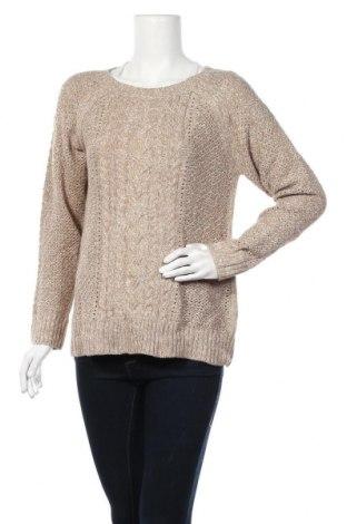 Дамски пуловер St. John's Bay, Размер L, Цвят Бежов, Акрил, Цена 11,76лв.