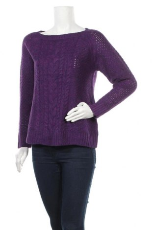 Γυναικείο πουλόβερ St. John's Bay, Μέγεθος L, Χρώμα Βιολετί, 100%ακρυλικό, Τιμή 17,90€