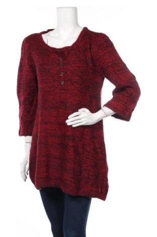 Дамски пуловер Style & Co, Размер L, Цвят Червен, 42% акрил, 30% полиамид, 28% вълна, Цена 16,80лв.