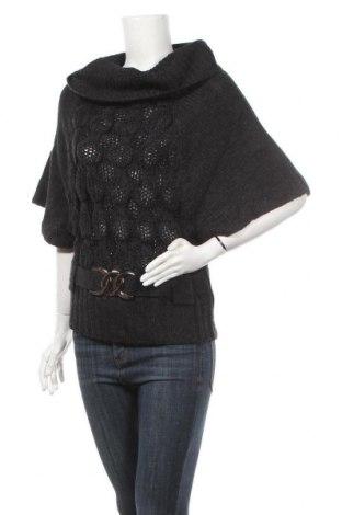 Дамски пуловер Suzy Shier, Размер M, Цвят Черен, Акрил, Цена 6,30лв.