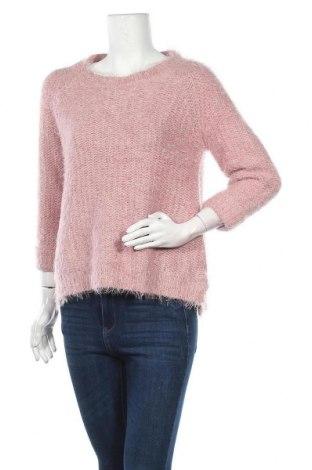 Дамски пуловер Tu, Размер L, Цвят Розов, 53% полиестер, 47% акрил, Цена 23,94лв.