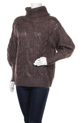 Дамски пуловер Vero Moda, Размер S, Цвят Кафяв, 80% полиестер, 20% акрил, Цена 17,25лв.