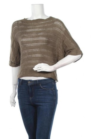 Γυναικείο πουλόβερ Vila, Μέγεθος M, Χρώμα Πράσινο, 100%ακρυλικό, Τιμή 14,62€
