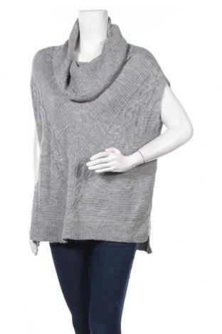 Дамски пуловер White House / Black Market, Размер M, Цвят Сив, 77% вълна, 23% полиамид, Цена 11,81лв.