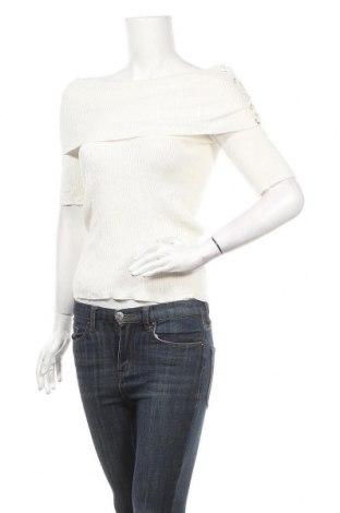 Γυναικείο πουλόβερ Xoxo, Μέγεθος M, Χρώμα Λευκό, 72% βισκόζη, 28% πολυαμίδη, Τιμή 6,14€