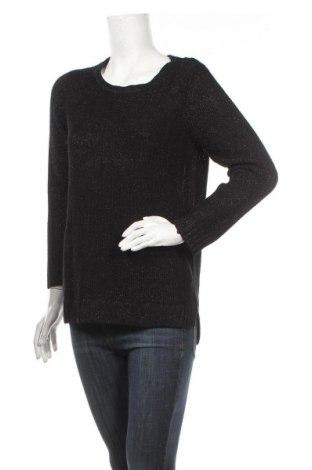 Дамски пуловер Yessica, Размер L, Цвят Черен, 65% вискоза, 35% метални нишки, Цена 6,93лв.