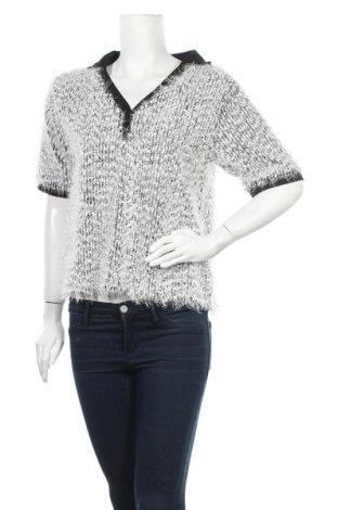 Дамски пуловер Zara, Размер L, Цвят Бял, Цена 13,44лв.