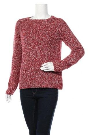 Дамски пуловер Zara Knitwear, Размер M, Цвят Червен, Цена 16,54лв.