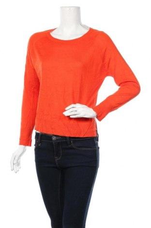 Дамски пуловер Zara Knitwear, Размер L, Цвят Оранжев, Цена 13,23лв.