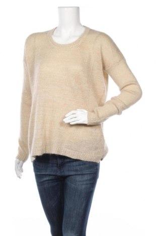 Дамски пуловер Zara Knitwear, Размер M, Цвят Екрю, 37% акрил, 31% полиамид, 19% мохер, 7% полиестер, 6% вълна, Цена 35,70лв.