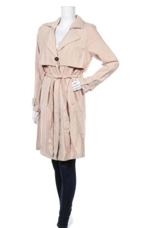 Дамски шлифер B.Young, Размер M, Цвят Бежов, 94% вискоза, 6% полиестер, Цена 34,75лв.