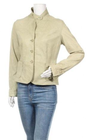 Дамско кожено яке Wilsons Leather, Размер M, Цвят Зелен, Естествена кожа, Цена 74,66лв.