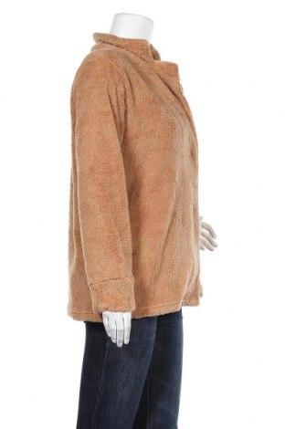 Дамско палто Pretty Winter, Размер S, Цвят Кафяв, Полиестер, Цена 22,25лв.