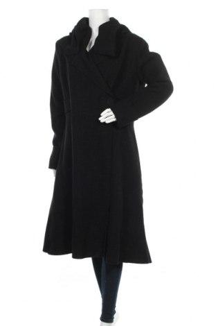 Дамско палто Eva Tralala, Размер L, Цвят Черен, Вълна, Цена 171,75лв.