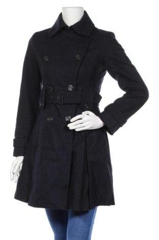 Γυναικείο παλτό Laundry By Shelli Segal, Μέγεθος S, Χρώμα Μπλέ, 60% μαλλί, 37% πολυεστέρας, 3% άλλα υφάσματα, Τιμή 55,72€