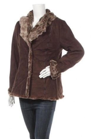 Дамско палто Marvin Richards, Размер M, Цвят Кафяв, Полиестер, Цена 49,14лв.