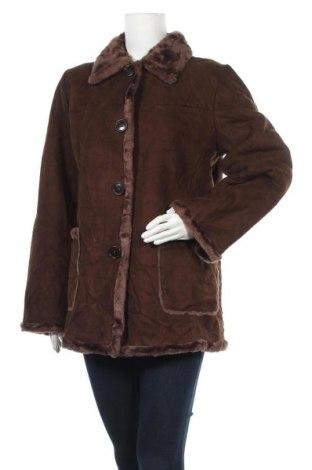 Дамско палто Nuage, Размер S, Цвят Кафяв, 65% акрил, 35% полиестер, Цена 11,29лв.