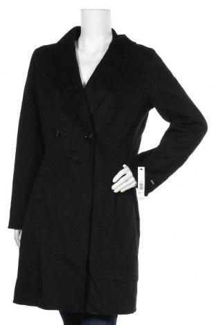 Дамско палто Tahari, Размер L, Цвят Черен, 52% вълна, 45% полиестер, 3% други нишки, Цена 40,32лв.