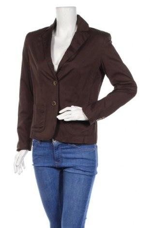 Дамско сако Feelgood, Размер S, Цвят Кафяв, 97% памук, 3% еластан, Цена 6,56лв.