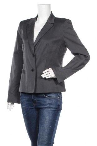 Дамско сако Ann Taylor, Размер M, Цвят Сив, 54% вълна, 44% полиестер, 2% еластан, Цена 9,98лв.