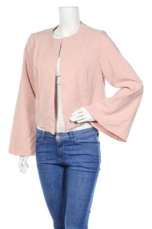 Дамско сако Capsule, Размер XL, Цвят Розов, 88% полиестер, 12% еластан, Цена 18,00лв.