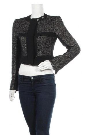 Γυναικείο σακάκι Ferre, Μέγεθος L, Χρώμα Μαύρο, 67% βαμβάκι, 19% πολυαμίδη, 14% μαλλί, Τιμή 69,15€