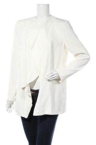 Γυναικείο σακάκι French Connection, Μέγεθος L, Χρώμα Λευκό, 62% μοντάλ, 38% βισκόζη, Τιμή 13,64€