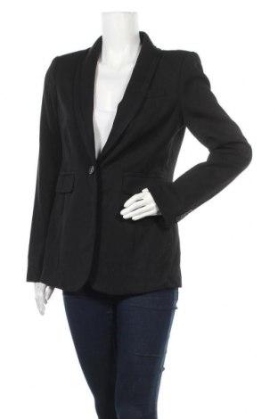 Дамско сако Loft, Размер M, Цвят Черен, 49% вълна, 49% полиестер, 2% еластан, Цена 12,08лв.