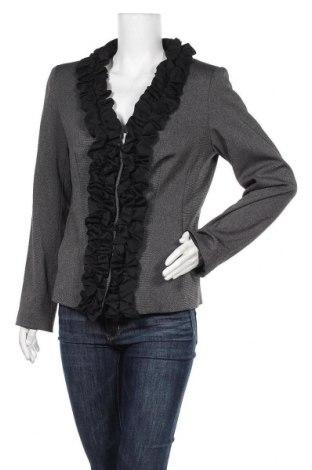 Γυναικείο σακάκι Mark Adam, Μέγεθος L, Χρώμα Μαύρο, 68% πολυεστέρας, 29% βισκόζη, 3% ελαστάνη, Τιμή 11,95€