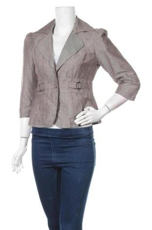 Дамско сако Orsay, Размер M, Цвят Сив, 65% лен, 21% памук, 14% полиестер, Цена 29,45лв.