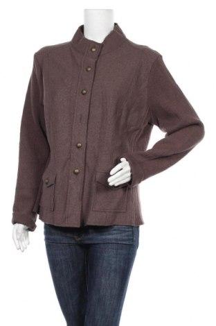 Γυναικείο σακάκι Pulp, Μέγεθος XL, Χρώμα  Μπέζ, Μαλλί, Τιμή 11,11€