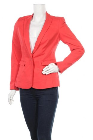 Дамско сако Rw & Co., Размер S, Цвят Червен, 67% памук, 29% полиестер, 4% еластан, Цена 24,99лв.