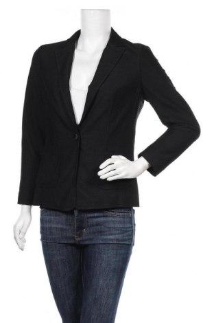 Дамско сако S.Oliver, Размер M, Цвят Черен, 85% полиестер, 15% еластан, Цена 24,57лв.