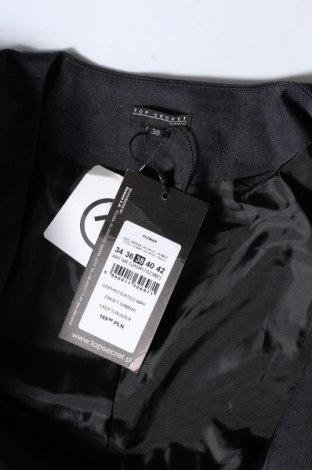 Дамско сако Top Secret, Размер M, Цвят Сив, 65% полиестер, 33% вискоза, 2% еластан, Цена 19,58лв.