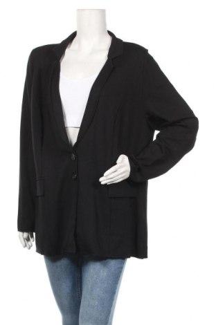 Γυναικείο σακάκι Ulla Popken, Μέγεθος XL, Χρώμα Μαύρο, 72% βισκόζη, 25% πολυεστέρας, 3% ελαστάνη, Τιμή 33,71€