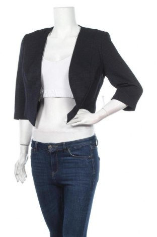 Γυναικείο σακάκι Vera Mont, Μέγεθος M, Χρώμα Μπλέ, 51% πολυεστέρας, 44% βισκόζη, 5% ελαστάνη, Τιμή 19,48€