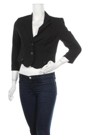 Дамско сако Vero Moda, Размер M, Цвят Черен, 65% полиестер, 30% вискоза, 5% еластан, Цена 5,51лв.