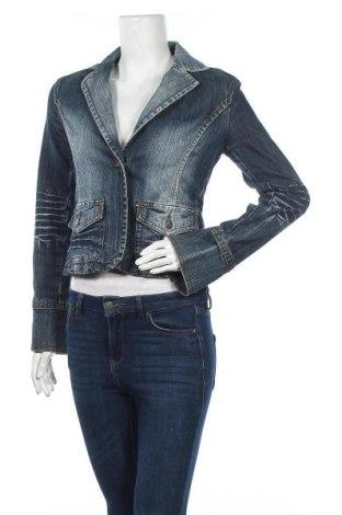 Дамско сако Vintage Wear, Размер S, Цвят Син, 80% памук, 19% полиестер, 1% еластан, Цена 6,83лв.
