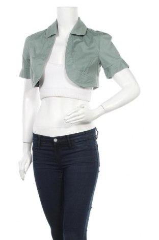 Дамско яке, Размер S, Цвят Зелен, 98% памук, 2% еластан, Цена 8,45лв.